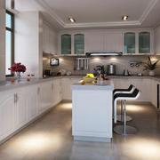 100平米欧式厨房室内吊顶设计装修效果图