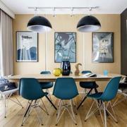 北欧风格餐厅吊灯效果图
