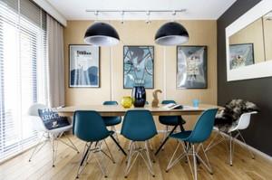 小户型北欧风格自然简约时尚餐厅装修效果图