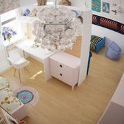 儿童房整体设计效果图