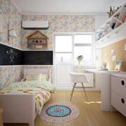 两居室现代田园风格儿童房装修效果图