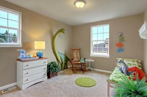 简约风格可爱创意恐龙主题儿童房装修效果图