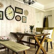 餐厅照片墙装修
