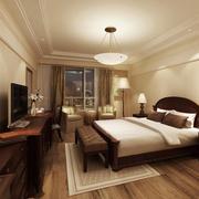 2016别墅型欧式卧室设计装修效果图欣赏