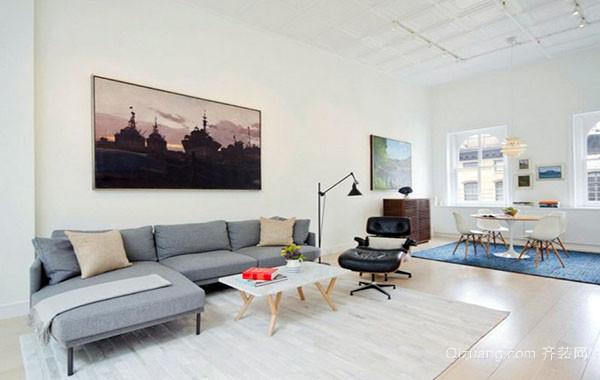 复式楼现代时尚创意loft风格装修效果图赏析