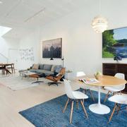 loft风格客厅背景墙