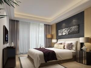 小户型欧式风格卧室背景墙装修效果图实例