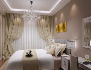 2016欧式小户型卧室吊顶装修效果图实例