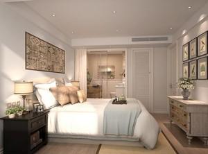 精致的现代大户型卧室背景墙装修效果图