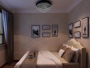 2016小户型现代精致卧室室内壁纸装修效果图