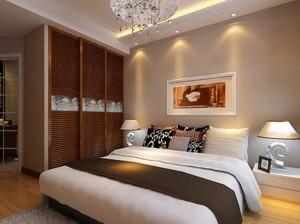 经典的现代欧式别墅卧室装修效果图