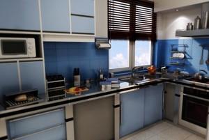 100平米大户型欧式厨房吊顶装修效果图
