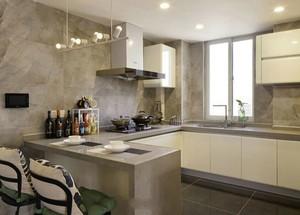 现代简约风格小户型厨房室内装修效果图