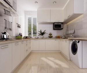 欧式风格小户型厨房橱柜装修效果图实例