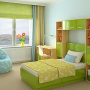 2016大户型精致儿童卧室装修效果图欣赏