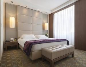 2016精致的大户型卧室窗帘装修效果图欣赏