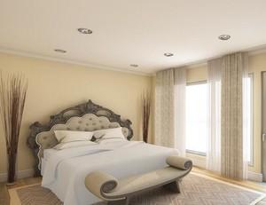 2016别墅型卧室窗帘装修效果图欣赏