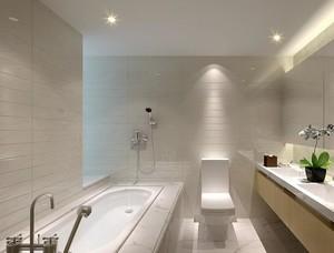 精致的现代小户型卫生间装修效果图欣赏