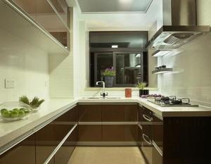 小户型现代精致欧式厨房装修效果图实例