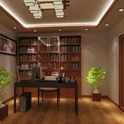 书房博古架装修