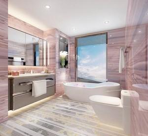 90平米大户型欧式卫生间装修设计效果图