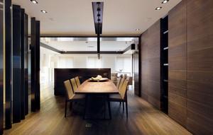 大户型后现代风格精致简约餐厅隔断装修效果图