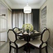 现代风格别墅型精致室内餐厅设计效果图