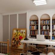 创意书房效果图