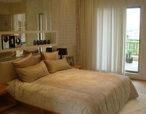 2016别墅型欧式卧室室内背景墙装修效果图