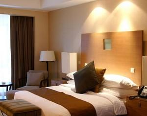 别墅欧式卧室窗帘设计装修效果图实例