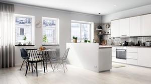 2016年全新款大户型北欧风格创意餐厅装修效果图