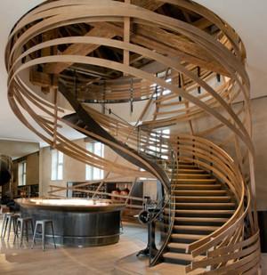 北欧风格精致复式小楼楼梯装修效果图大全