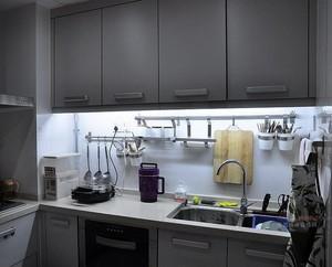 100平米大户型欧式厨房橱柜设计装修效果图