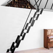 极简主义风格阁楼楼梯装修实景图赏析