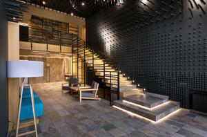 60平米跃层简约时尚公寓楼梯装修效果图