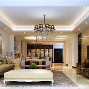 欧式客厅整体设计效果图
