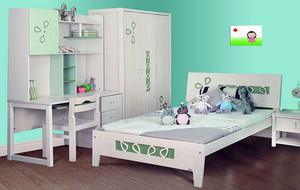 2016年全新款都市轻快风格大户型儿童房装修效果图