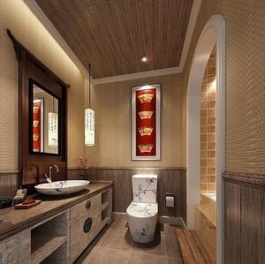 小户型欧式卫生间设计装修效果图实例