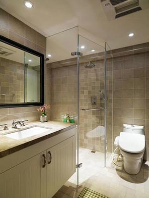 5平米现代简约风格室内卫生间隔断装修效果图