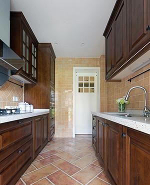 美式风格大户型精致室内厨房装修效果图