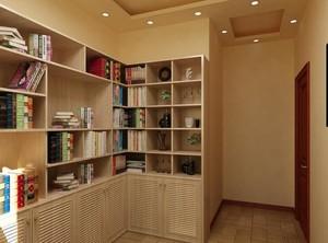 大户型现代简约书房书柜装修效果图欣赏