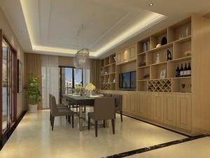 2016别墅欧式餐厅室内设计装修效果图欣赏