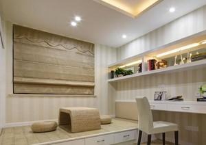 2016现代别墅卧室榻榻米装修效果图实例