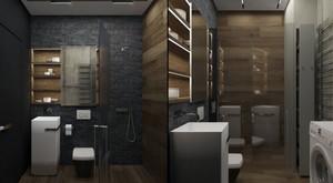60平米现代简约风格创意公寓装修实景图