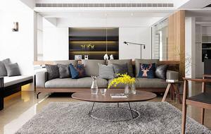 大户型现代简约风格精致公寓装修效果图赏析
