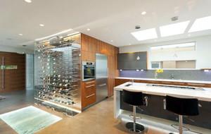 别墅型现代风格精致室内酒柜装修效果图大全