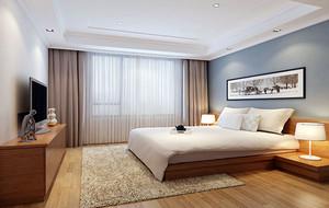 110平米现代简约风格精致时尚卧室装修效果图大全