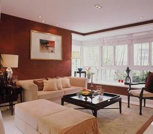 小户型现代简约客厅吊顶装修效果图