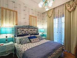 欧式风格别墅型卧室吊顶装修效果图鉴赏