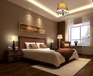 小户型欧式风格卧室背景墙装修效果图欣赏